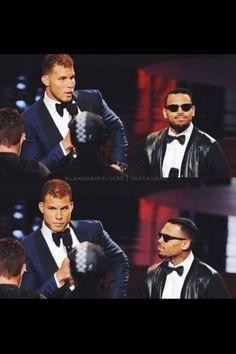 Blake and Chris Brown #2014Espys