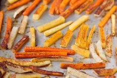Root Vegetable Fries