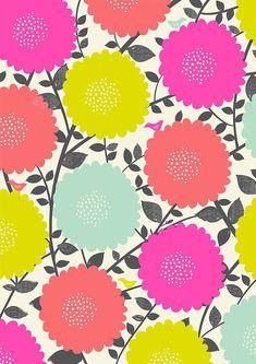 So fun! Susan Driscoll surface pattern design.