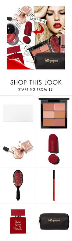 """""""Vday Beauty Look"""" by edenslove ❤ liked on Polyvore featuring beauty, MAC Cosmetics, Valery Joseph, Victoria's Secret, NYX, Bella Freud and Neiman Marcus"""