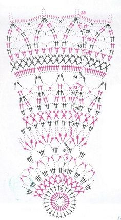 VK is the largest European social network with more than 100 million active users. Crochet Doily Diagram, Crochet Chart, Thread Crochet, Filet Crochet, Crochet Motif, Crochet Doilies, Crochet Hooks, Chain Stitch Embroidery, Learn Embroidery