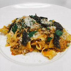 #NYCRestaurantWeek | Veal Bolognese with Housemade Pappardelle and Black Truffles from Burgundy