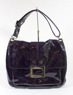 Roger Vivier purple patent leather handbag - one of many amazing designer pieces up for auction at Rodeo Drive Deals.