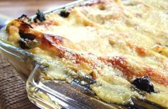 italian cheese, baby spinach, and chicken lasagna