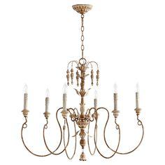 Rosalind Wheeler Ardclinis 6 Light Candle-Style Chandelier & Reviews | Wayfair