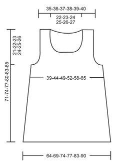 DROPS 112-10 - Tunique DROPS au tricot en «Bomull-Lin». Du S au XXXL. - Free pattern by DROPS Design