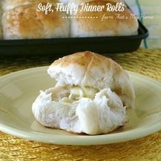 Big, Soft, Fluffy Dinner Rolls These can be made in less than 2 hours ~use milk and butter instead of water and oil~