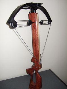 homemade crossbow
