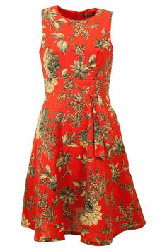 wedding guest dress is charming in melon color