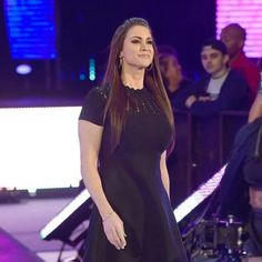 Welcome to the Queendom blasts through the arena! Stephanie came out and interrupted her. Wrestling Divas, Women's Wrestling, Stephanie Mcmahon Hot, Krystal Dsouza, Hottest Wwe Divas, Trish Stratus, Total Divas, Wwe Wrestlers, Lady And Gentlemen