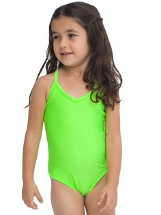 ae72a9f9ec Kids One-Piece Bathing Suit  Swimwear  AmericanApparelKIDS  Neon Little Girl  Rooms