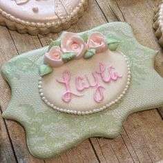 "85 Likes, 8 Comments - Cacey Tacquard (@caceyscakery) on Instagram: ""#caceyscakery #sugarcookies #decoratedcookies #babyshower #babygirl #swoon #friendswood #pearland…"""