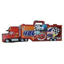 Disney / Pixar Cars Mack Truck Transporter 16 Car Carrying Case 1:55 Scale Mattel