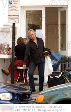 """August 2, 2004 -- This picture is from the trip """"Alan Rickman after shopping at the Maison de Famille, London, England."""""""