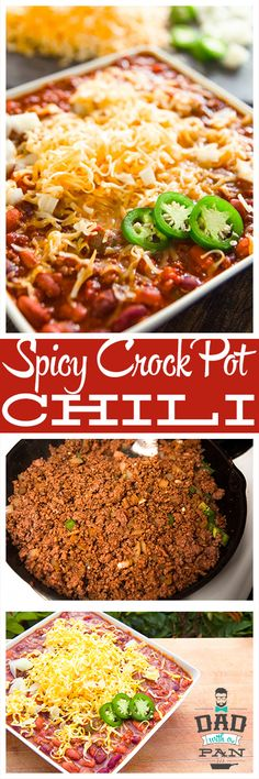 ... Spicy Slow Cooker Chili | Recipe | Best Chili Recipe, Chili and Spicy