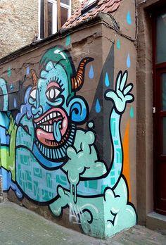 En güzel dekorasyon paylaşımları için Kadinika.com #kadinika #dekorasyon #decoration #woman #women Graffiti Antwerp 2016-6