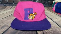 f7a62d9d Vintage 90s Pebbles Snapback Cap Hat The Flintstones Trucker with PATCH  #TheFlintstones #Cap #