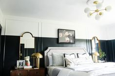 Keep the mood 'soft' for works above your bed! //**More TIPS from our 'Art in Bedrooms' Blog Post!   Visit the Latela Art Gallery Blog for tips & inspiration on building your art collection (on any budget!) + get the convo started today to find the perfect art pieces!