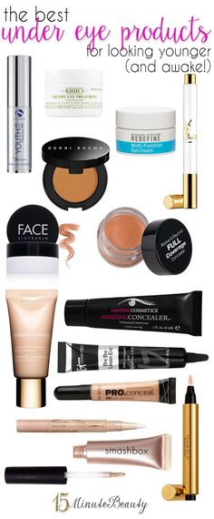 The Best Under Eye Makeup Products for Looking Younger and Awake