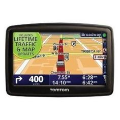 #10: TomTom XXL 540TM 5-Inch Widescreen Portable GPS Navigator (Lifetime Traffic  Maps Edition)