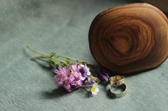 Wooden mushroom box Engagement ring box Wooden by Yambolena
