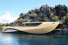 Chronos Yatch: o iate feito de bambu ~~ http://vver.de/f9