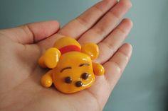 Polymer Clay Baby Pooh Bear