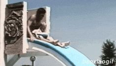 I'm sorry. Want to go down the slide again?