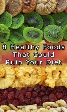 8 Healthy Foods That Could Ruin Your Diet http://fitering.com/healthy-foods-to-ruin-diet/