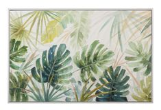 #wallart #homedecor #havana #green #greendecor #interiordesign Green Home Decor, Havana, Plant Leaves, Tapestry, Display, Wall Art, Canvas, Frame, Painting