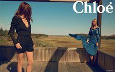 La campagne publicitaire Chloé printemps-été 2014