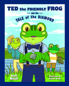 Three separate kids books featuring Ted, a friendly frog, who goes on lots of fun adventures! Kids will love! Telling Stories, S Stories, Fables For Kids, New Readers, Scott Mccall, Family Values, Kids Writing, Amazing Adventures, Library Books