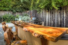 Outdoor Kitchen - eclectic - patio - san francisco - Treve Johnson Photography