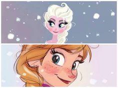 Anna e Elsa :)