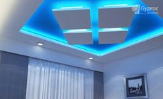 latest gypsum board false ceiling designs and walls with lighting 2019 Drawing Room Ceiling Design, Interior Ceiling Design, House Ceiling Design, Ceiling Design Living Room, Living Room Designs, Living Rooms, Simple False Ceiling Design, Plafond Design, Bedroom False Ceiling Design