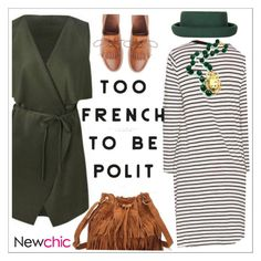 """Newchic"" by teoecar ❤ liked on Polyvore featuring Topshop and Toast"