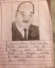 This kid who brought Martin Luther King's speech right into the 21st century. | 22 Kids Who Have Their Priorities Straight
