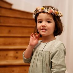 Lililotte - Robe lange vert Léopoldine