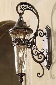 Use the elegant Anastasia Wall Sconce to frame your front door or simply hang to illuminate the outside of your home.