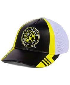 cf008a522a026 adidas Columbus Crew SC Authentic Team Flex Cap   Reviews - Sports Fan Shop  By Lids - Men - Macy s