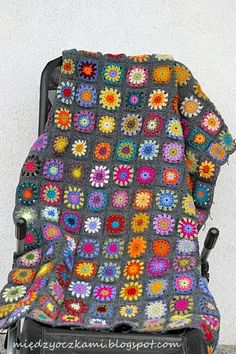 I am in love with this beautiful blanket and want to copy it exactly. Love the colors used