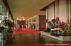 Disneyland Hotel 1968 lobby
