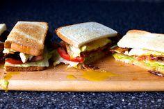 runny egg BLT sandwich  | smittenkitchen.com