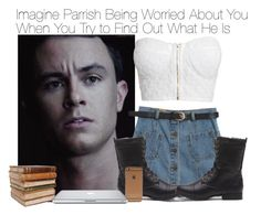 """Imagine Parrish Being Worried About You When You Try to Find Out What He Is"" by fandomimagineshere ❤ liked on Polyvore featuring NLY Trend, Chicnova Fashion and Ceramiche Pugi"