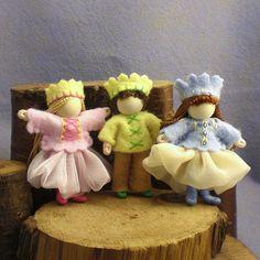Bendy dolls - princesses prince   by PrincessNimbleThimble