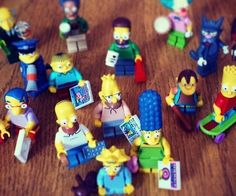 LEGO Simpsons Minifigures  Bring all your favorite Springfielders from the TV to your living room with the LEGO Simpsons minifigures. Now youll be able to recreate your own Springfield and hang out with everyone from titans of industry like Mr. Burns to certified C-list celebrities such as Bumbleebee Man.  $5.49  Check It Out  Awesome Sht You Can Buy