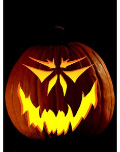 Scary Pumpkin Carving Patterns | ... jackolantern pattern download free pumpkin carving patterns frugal