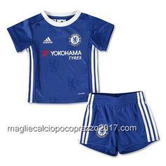 maglie calcio home Bambini Chelsea 2016-17