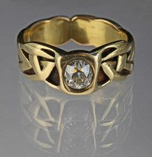 ARCHIBALD KNOX An Important Liberty & Co Ring