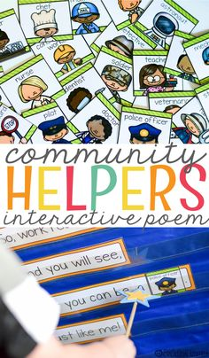Teaching little learners about our community is one of my favorite units! There is so much to learn and exploretogether. I love introducing units in a fun and engaging way and this community helper interactive poem is perfect for the job. Interactive poems are always a hit and I love all thatmy learners get out …